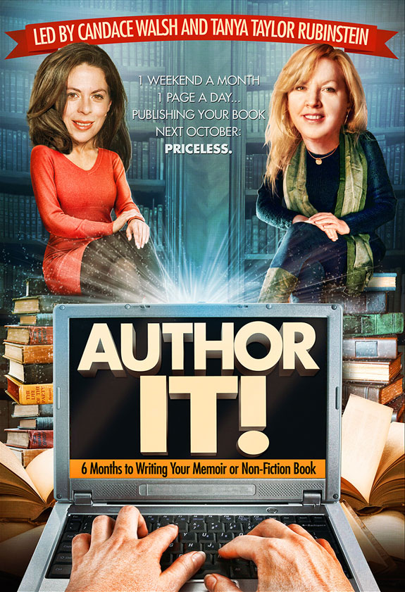 Author It writing workshop led by Candace Walsh & Tanya Taylor Rubinstein